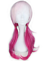 cheap -Cosplay Wigs Guilty Crown Inori Yuzuriha Anime Cosplay Wigs 60 CM Heat Resistant Fiber Female Girl's