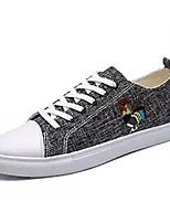 preiswerte -Schuhe PU Leinwand Frühling Herbst Komfort Sneakers für Normal Orange Grau Grün