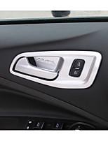 Недорогие -автомобильная внутренняя дверная чаша diy автомобильные интерьеры для ford 2013 2014 2015 2016 2017 kuga plastic