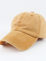 cheap -Women's Work Casual Cotton Sun Hat Baseball Cap - Solid Colored, Stylish