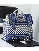 cheap -Women Bags PU Backpack Sequins for Casual All Season Silver Gold