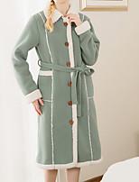 abordables -Style frais Peignoir, Couleur Pleine Qualité supérieure 100 % Polyester Coton / Polyester Serviette