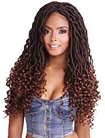 cheap -18inch 20 Roots Goddess Locs with Curly Ends Crochet Twist Synthetic Braiding Hair Extension