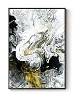 economico -Astratto Ad olio Decorazioni da parete,Polistirolo Materiale con cornice For Decorazioni per la casa Cornice Salotto