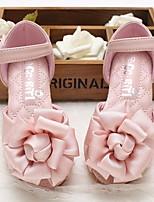 Недорогие -Девочки обувь Искусственное волокно Весна Осень Удобная обувь Детская праздничная обувь На плокой подошве для Повседневные Бежевый Розовый