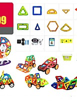 cheap -Magnetic Blocks 199 pcs Special Designed Parent-Child Interaction Transformable Toy Truck Plane Round Square Warrior Car Children's Gift