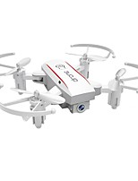 cheap -RC Drone HY1601WHITE 4 Channel 6 Axis 2.4G With 720P HD Camera RC Quadcopter Height Holding WIFI FPV One Key To Auto-Return Headless Mode