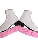 cheap -Over The Boot Figure Skating Tights All Ice Skating Bottoms Pink Sky Blue Rose Red Yellow Spandex Stretchy Practise Skating Wear Solid
