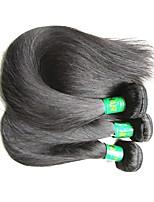 Недорогие -сырые индийские шелковые прямые remy человеческие волосы пучки 3pieces 300g много в продаже индийские виргинские наращивания волос ткут