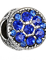 cheap -DIY Jewelry 10 pcs Beads White Pearl Pink Light Blue Royal Blue Round Alloy Bead 0.45 cm DIY Bracelet Necklace