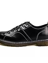 Недорогие -Муж. обувь Полиуретан Зима Удобная обувь для Повседневные Черный Коричневый