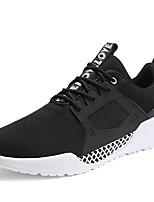 Недорогие -Муж. обувь Тюль Весна Лето Удобная обувь Кеды для Повседневные на открытом воздухе Белый Черный Серый