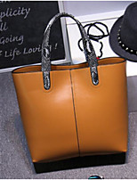 cheap -Women Bags Cowhide Shoulder Bag Buttons Tassel for Casual All Season Brown Coffee Yellow Red Black