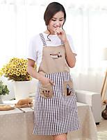 Недорогие -высококачественный кухонный фартук, текстиль 72 * 79