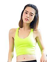 baratos -Mulheres Sutiã Esportivo Secagem Rápida Respirabilidade Ultra Fino Sutiã Esportivo para Fantasias para Cheerleader Dança do Ventre