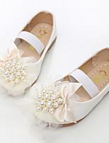 abordables -Fille Chaussures Polyuréthane Printemps Automne Nouveauté Chaussures de Demoiselle d'Honneur Fille Ballerines Rivet Elastique pour
