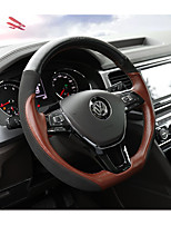 cheap -Automotive Steering Wheel Covers(Leather)For Volkswagen 2017 Teramont Without a Paddle