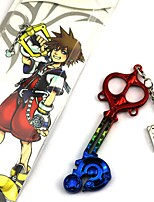 abordables -Accesorios cosplay inspirados en Kingdom Heart Roxas Anime Cosplay Accessories Otros cromo