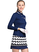 economico -Per donna Golf Set di vestiti Asciugatura rapida Antivento Indossabile Traspirabilità Golf Attività all'aperto