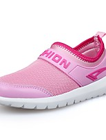 cheap -Girls' Shoes Tulle Spring Fall Comfort Athletic Shoes Running Shoes for Athletic Casual Pink White