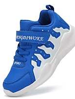 cheap -Boys' Shoes Leatherette Spring Fall Comfort Athletic Shoes Basketball Shoes for Outdoor Royal Blue Black/White Dark Blue
