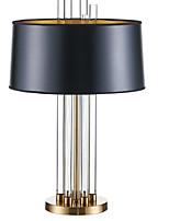 Недорогие -Современный Хрусталь Настольная лампа Назначение Спальня Хрусталь Черный