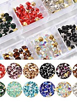 cheap -Ornaments Rhinestones Multi-colored Nail Art Design