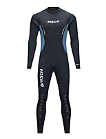 economico -HISEA® Per uomo Per donna 5mm Muta intera Multistrato Sport invernali conservazione del calore Ripiegabile Elastico Nuoto Nylon Neoprene