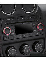 preiswerte -Automobil Sound Knob diy Auto Innenausstattung für Jeep alle Jahre Wrangler Patriot Kompass Metall