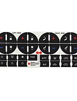Недорогие -автомобильный Центровые стековые обложки Всё для оформления интерьера авто Назначение Buick Универсальный
