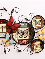 Недорогие -Декор стены Металл Классика Предметы искусства,Металлические украшения на стену из 1