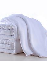 abordables -Style frais Serviette, Couleur Pleine Qualité supérieure Pur coton Plaine Serviette