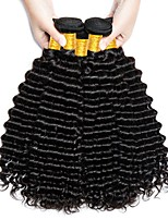 cheap -Brazilian Deep Wave Human Hair Weaves 4 Pieces 0.2