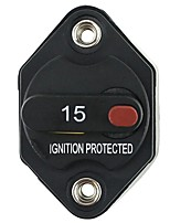 cheap -Waterproof Circuit Breaker Fuse Inverter with Manual Reset Button for Truck RV Marine trailer