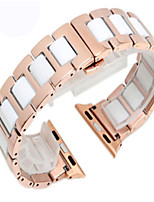preiswerte -Uhrenarmband für Apple Watch Serie 3/2/1 Apple-Armband moderne Schnalle Stahl