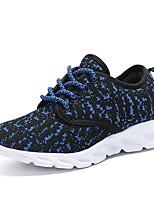 economico -Da ragazzo Scarpe Materiali personalizzati Tulle Primavera Estate Comoda Suole leggere scarpe da ginnastica Corsa Pizzo Lacci per