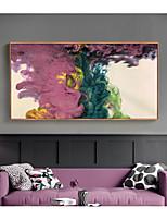 Недорогие -Абстракция Предметы искусства,Полистирен материал с рамкой For Украшение дома Предметы искусства в рамках Гостиная