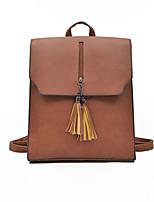 cheap -Unisex Bags PU Zipper for Casual All Seasons Black Blushing Pink Dark Green Brown