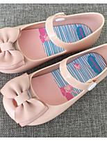 abordables -Fille Chaussures PVC Printemps Automne Confort Sandales pour Décontracté Noir Rouge Amande