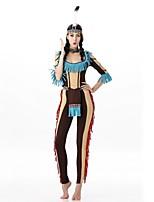 abordables -primitivo Disfrace de Cosplay Baile de Máscaras Mujer Halloween Carnaval Año Nuevo Oktoberfest Festival / Celebración Disfraces de