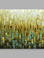 cheap -Hand-Painted Abstract Horizontal, Modern Oil Painting Home Decoration One Panel