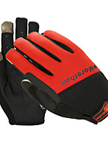 cheap -Sports Gloves Sports Gloves Bike Gloves / Cycling Gloves Wearable Breathable Anti-Shock Skidproof Full-finger Gloves Touch Screen Gloves
