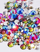 cheap -Rhinestones Crystal Multi-colored Nail Art Design