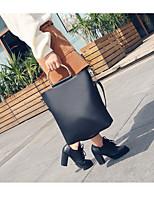 preiswerte -Damen Taschen PU Tragetasche Reißverschluss für Alle Jahreszeiten Schwarz Rote Braun