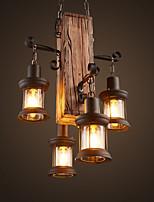 abordables -Rústico/Campestre Campestre Mini Estilo Lámparas Colgantes Luz Ambiente Para Bazares y Cafeterías 110-120V 220-240V Bombilla no incluida