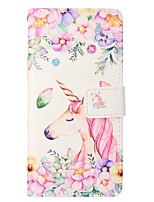 cheap -Case For Samsung Galaxy S8 Plus S8 Card Holder Wallet with Stand Flip Magnetic Full Body Unicorn Hard PU Leather for S8 Plus S8 S7 edge