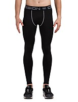 cheap -Men's Running Tights Fast Dry Tights Running Other Oxford cloth Black Mineral Green Black/White Grey S M L XL XXL