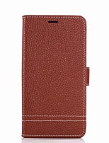 cheap -Case For Xiaomi Card Holder Wallet with Stand Flip Full Body Solid Color Hard PU Leather for Xiaomi Redmi Note 5A Xiaomi Redmi Note 4X