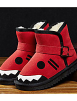 cheap -Girls' Shoes Real Leather Nubuck leather Spring Fall Comfort Snow Boots Boots Booties/Ankle Boots for Casual Blue Red Army Green