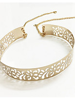 cheap -Women's Alloy Chain,Gold Casual Metal